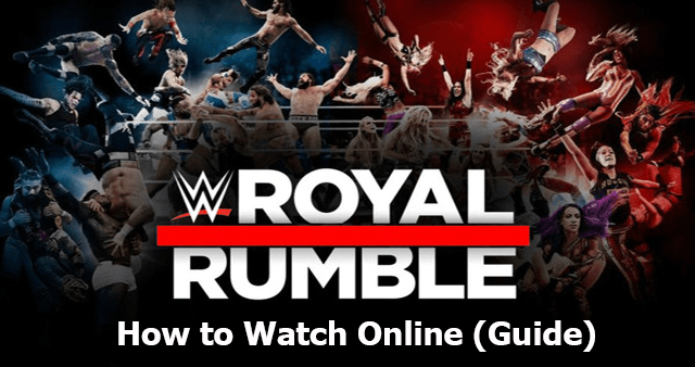 Royal Rumble 2020 Live Online